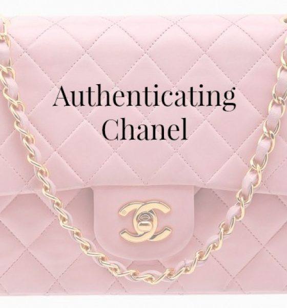 Authenticating Chanel