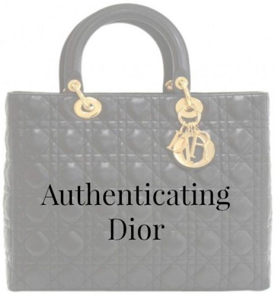 Authenticating Dior