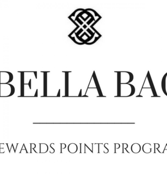 Bella Bag's New Rewards Points Program