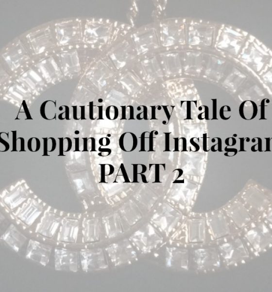 A Cautionary Tale Part Of Shopping Off Instagram Part 2