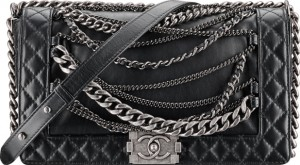 Chanel Boy Enchained Flap Bag