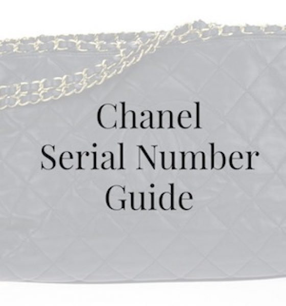 Chanel Serial Number Guide