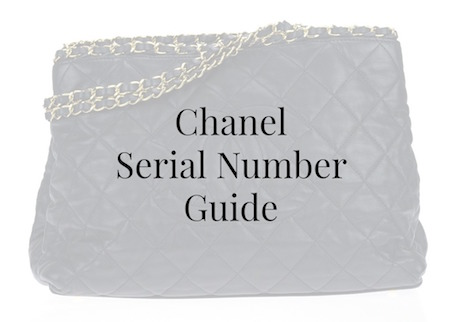 Check Chanel Serial Number