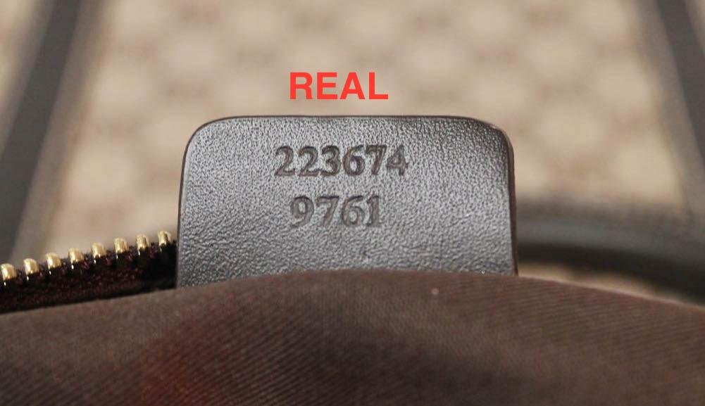 gucci serial number unique