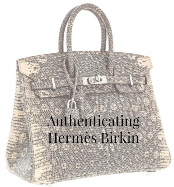 Authenticating Hermès