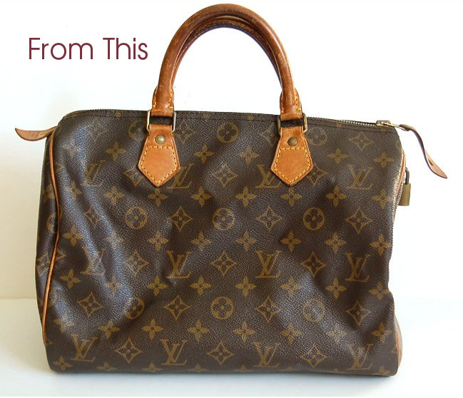 How to Make That Louis Vuitton Look Brand New With Photos 4ef158c1e7