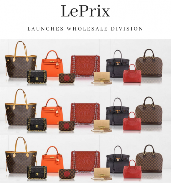 LePrix Launches Wholesale Auction for the Designer Resale Industry
