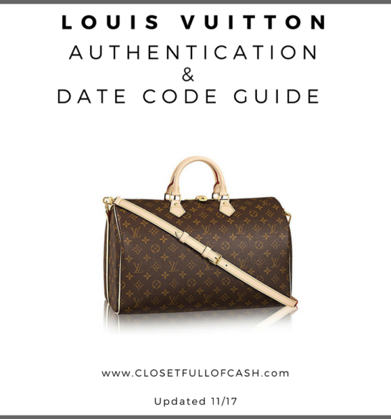 Louis Vuitton Authentication Guide & Date Codes
