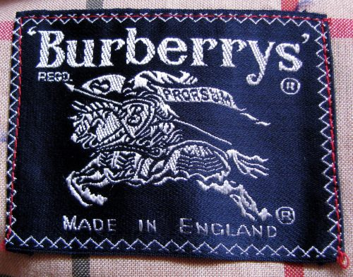 Authenticate Burberry
