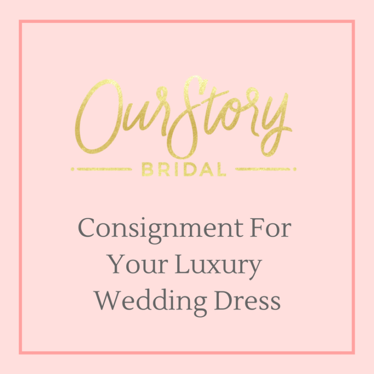 Consignment for wedding dresses launches with our story for Resell your wedding dress