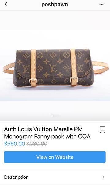Selling luxury bags on Instagram