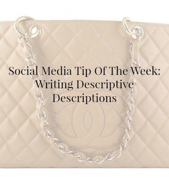 How To Write A Descriptive Description