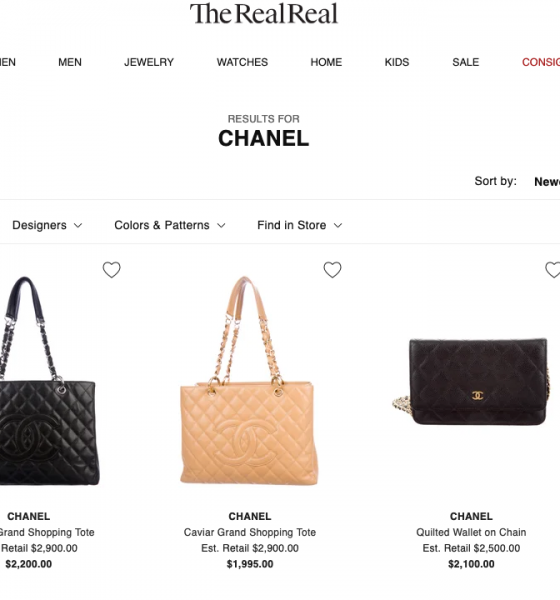 The RealReal responds to Chanel's lawsuit and it's everything you expected and more