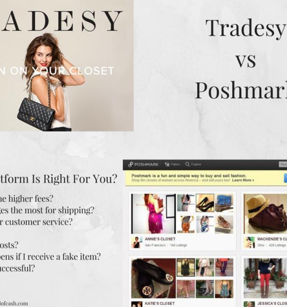 Tradesy vs Poshmark