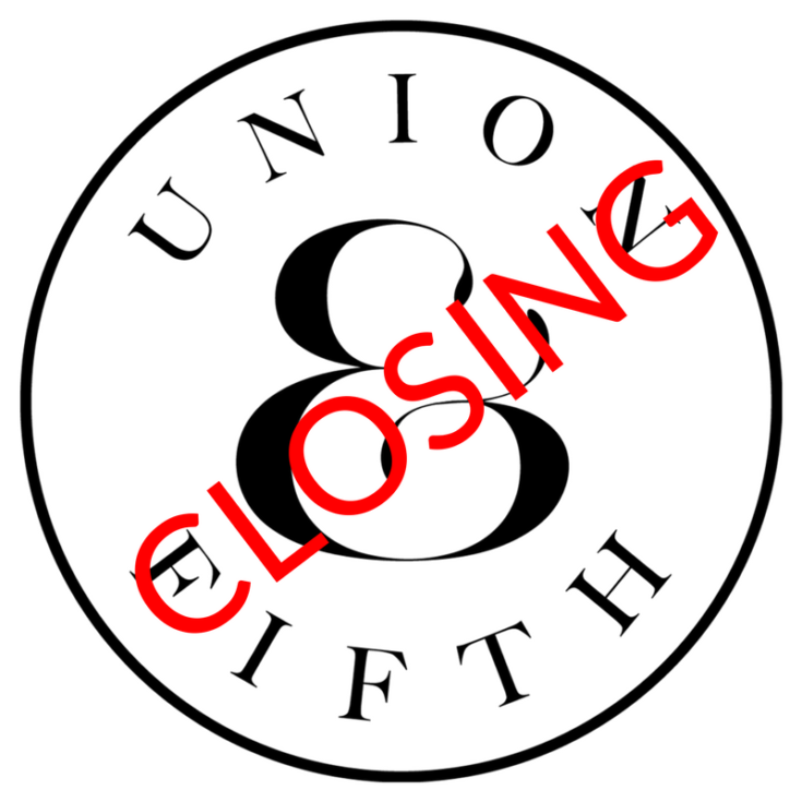 Union And Fifth To Close Down