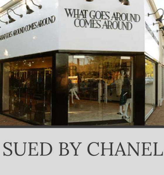 What Goes Around Comes Around Sued By Chanel